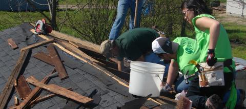 World Renew - Repairing Roof
