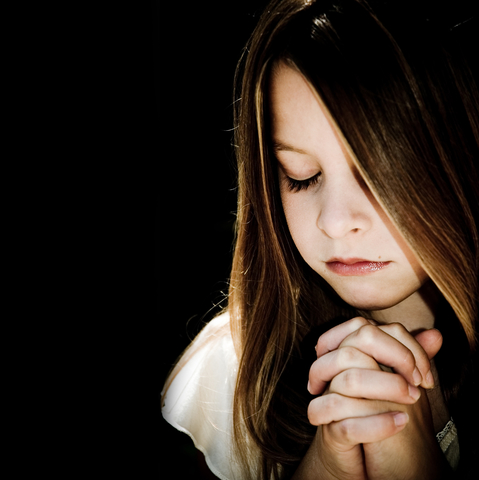 Girl Prayingjpg Christian Reformed Church